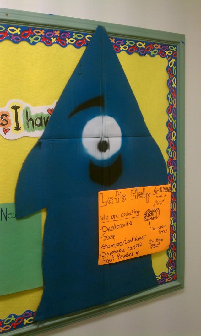 Middle School Sunday School class mascot